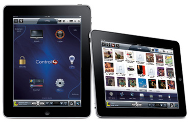 Control 4 interface through your iPad, local or remote