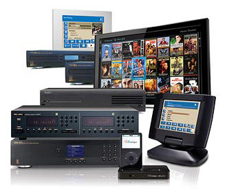 Elan Home Systems for entertainment, comfort, security, communications and lighting