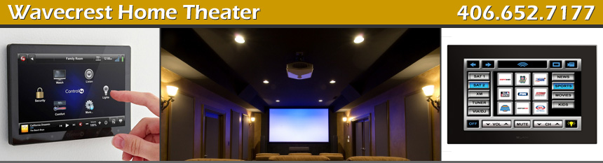 Wavecrest Home Theater, Charles Sinclair in Billings, Montana